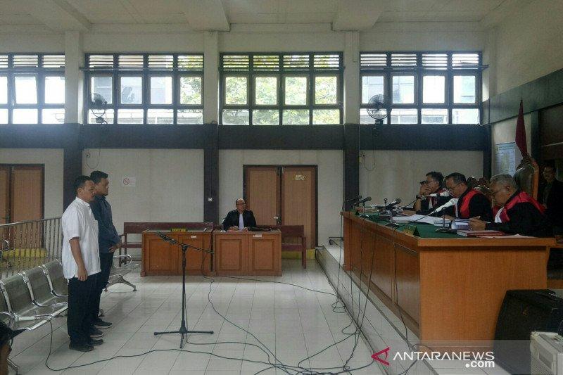 Dua terdakwa korupsi  jalan bandara pagaralam divonis 4 tahun penjara