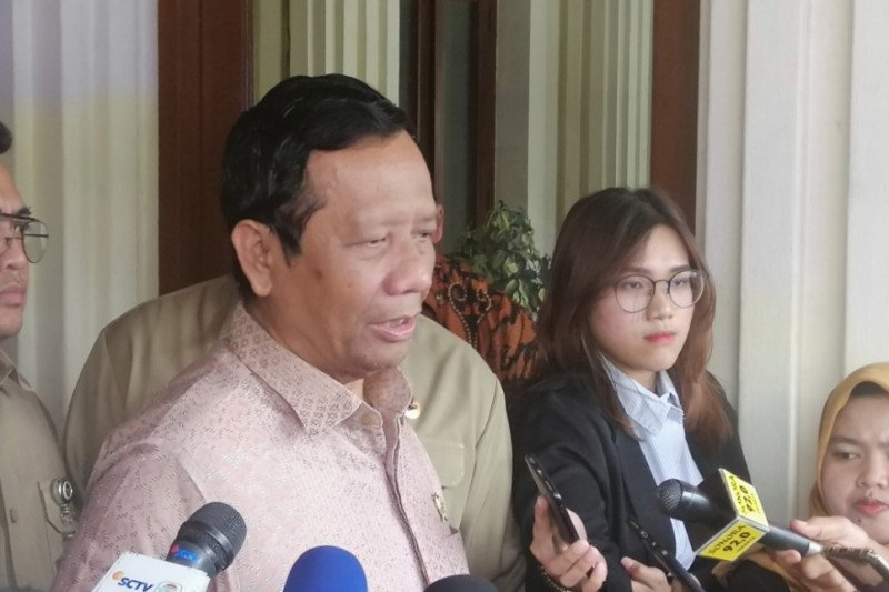 "Soal ""reshuffle"", Mahfud MD: Presiden Jokowi tidak pernah bicara"