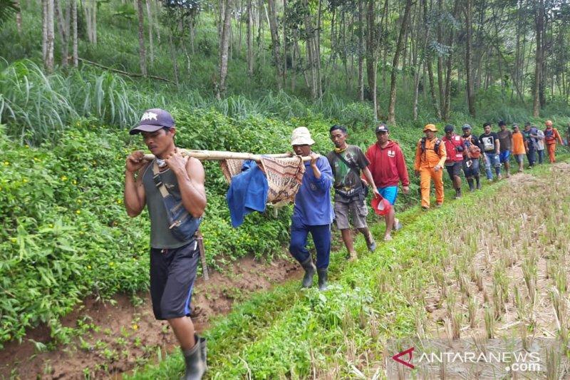 Jasad balita terbawa arus di Cianjur, akhirnya ditemukan