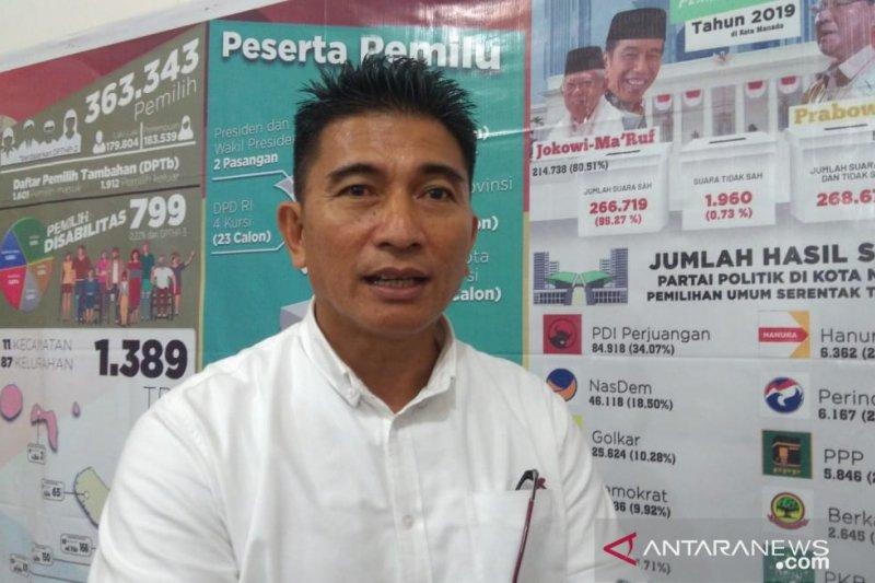 KPU Manado asuransikan para  tenaga adhoc