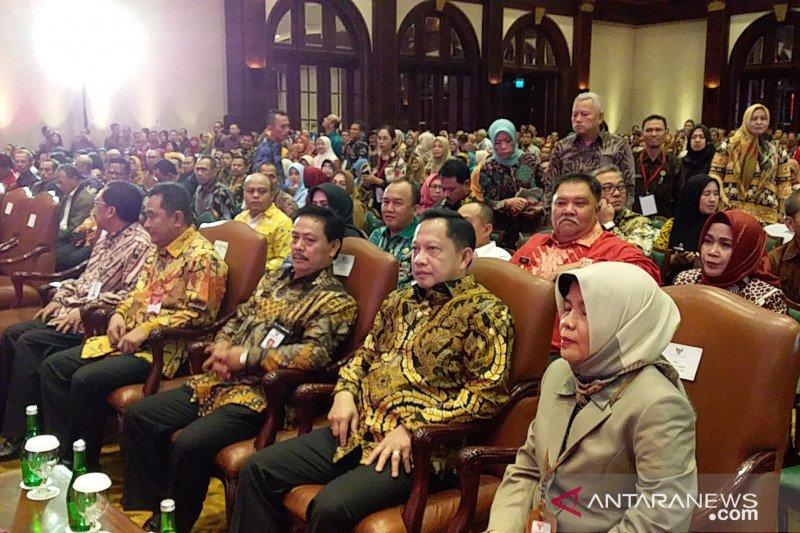 Bupati Jabes Gaghana Hadiri Rakernas Perpustakaan di Jakarta