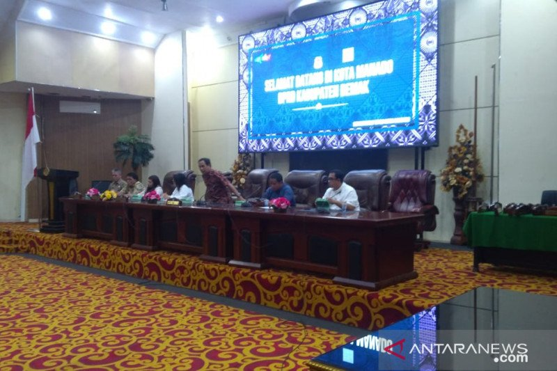 DPRD Demak belajar  pemanfaatan keuangan di Manado