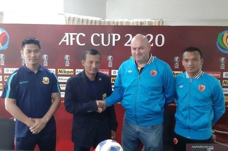 Ferdinand Sinaga tidak khawatir meski dijaga ketat bek Shan United