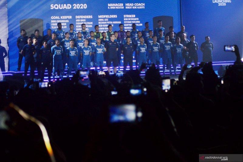 Persib Bandung merilis jersey dan tim untuk mengarungi musim Liga 1 2020
