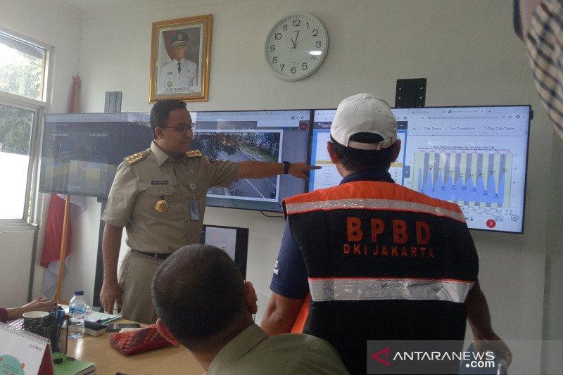 Lebih 200 RW terdampak banjir akibat hujan intensitas tinggi yang mengguyur Ibu Kota