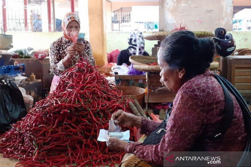 Harga cabai keriting di Kota Yogyakarta merangkak naik