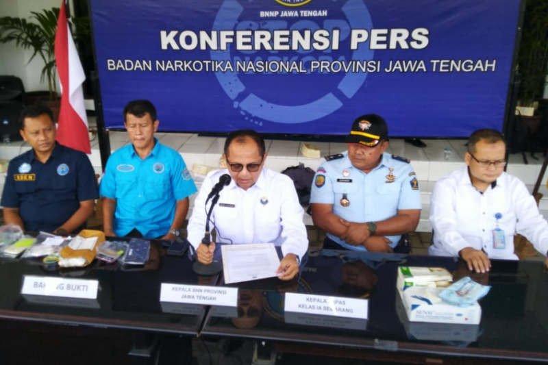 BNN Jateng mengungkap peredaran sabu dikendalikan napi Kedungpane