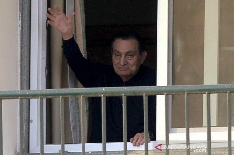 Mantan Presiden Mesir Hosni Mubarak wafat