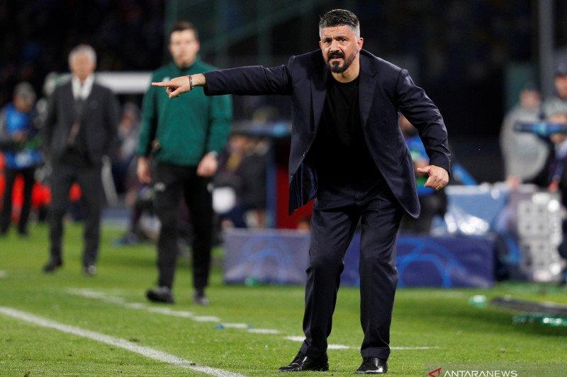 Gattuso: Napoli sudah tidak sabar hadapi tuan rumah Barcelona