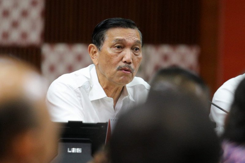 Luhut sebut Presiden Jokowi sedang cari Kepala Badan Otorita Ibu Kota baru