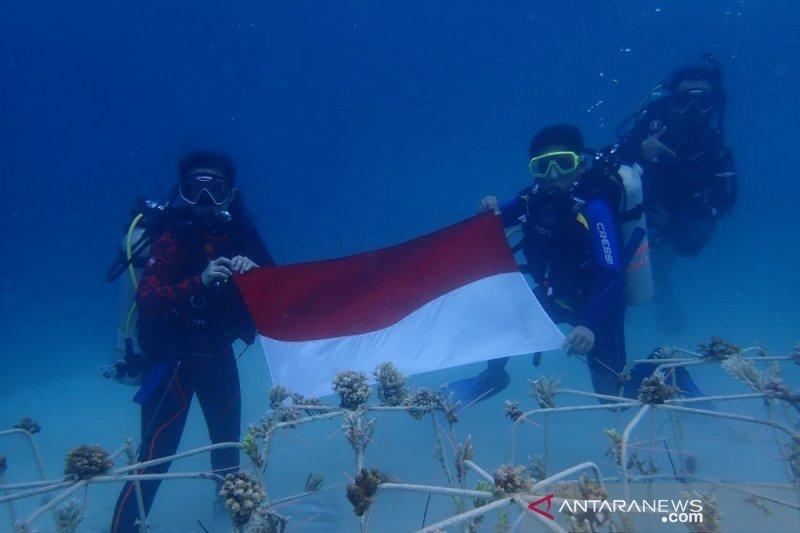 BTNKT kembali transplantasi 7.200 karang di Perairan Togean