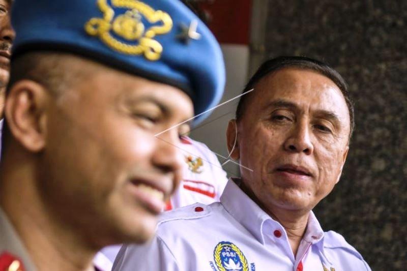 Ketua Umum PSIS Kunjungi Satgas Antimapia Bola