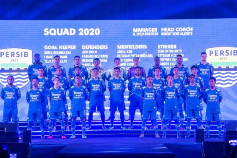 Peluncuran Tim Persib Bandung Liga 1
