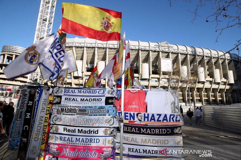 "Madrid ""sumbangkan"" Santiago Bernabeu jadi pusat alat kesehatan"