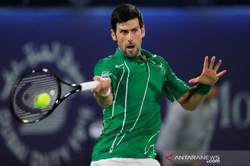US Open 2020 dimulai, Djokovic ingin para petenis terpilih diizinkan bepergian ke AS