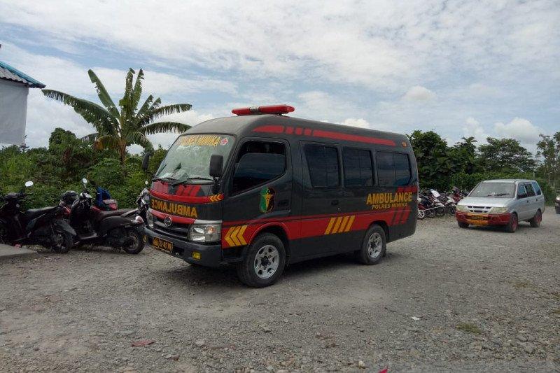 Anggota Brimob yang tertembak KKB Nduga dievakuasi ke Jakarta