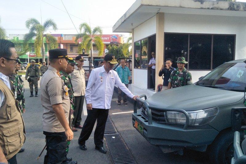 Pemkot Pariaman bersama TNI-Polri gelar apel siaga bencana