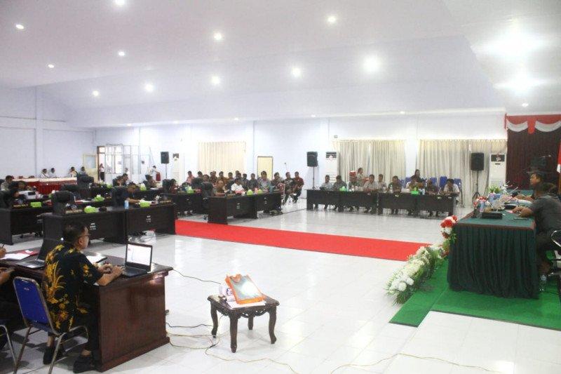 DPRD Sitaro Bertemu Kapitalau dan MTK  Terkait Penambangan  Pulau Ruang