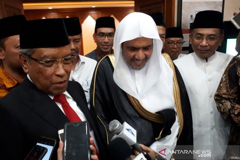 Liga Muslim Dunia dukung misi perdamaian dan harmonisasi NU