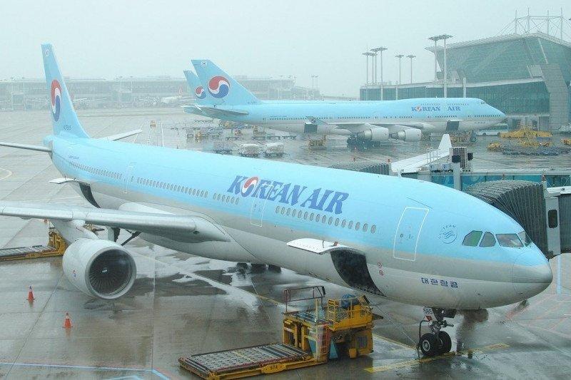 Seorang pramugari Korean Air pengidap corona terbang rute Seoul-Los Angeles