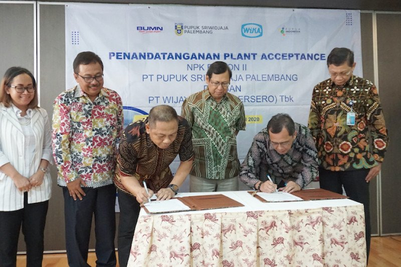 Pusri siap operasikan pabrik NPK Fusion  II Palembang