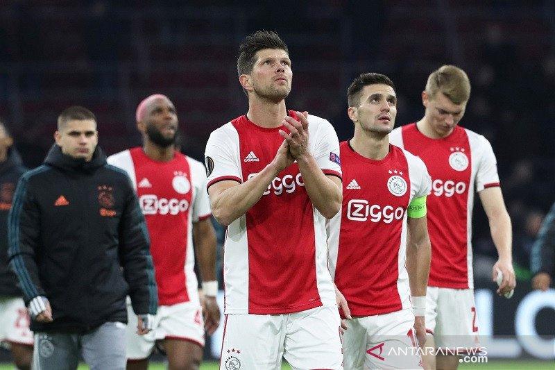 Ajax menang atas Getafe tapi harus tersingkir dari Liga Europa