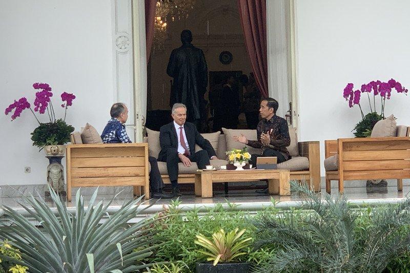 Usai bertemu Presiden Jokowi, ini kata Blair terkait pemindahan ibu kota RI