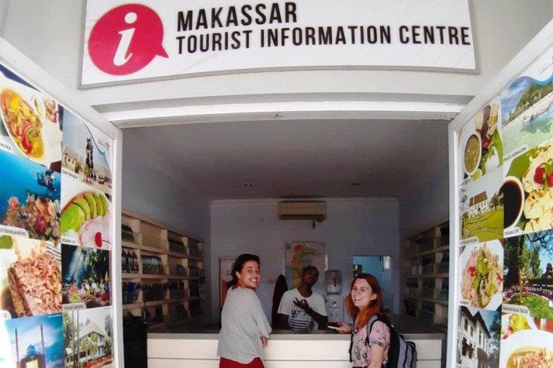Dispar Makassar hadirkan Tourism Information Center  di sekitar Pantai Losari