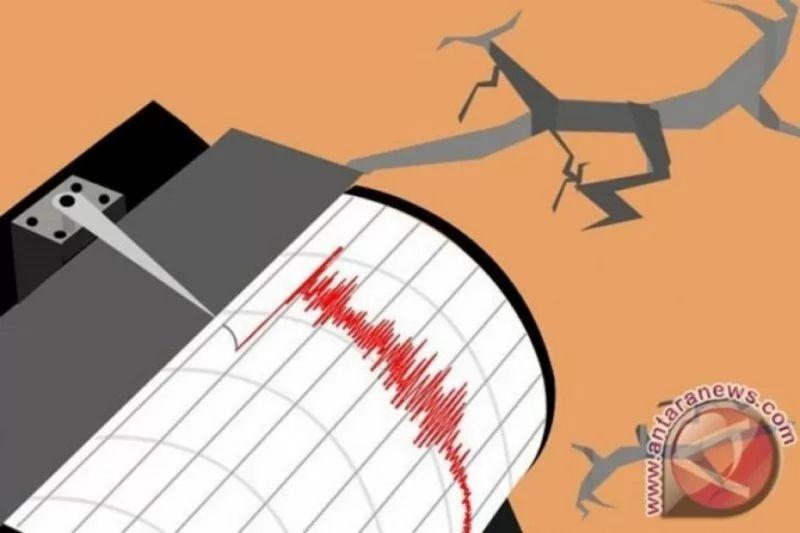 Gempa magnitudo 5,7  di Tahuna Sulawesi Utara