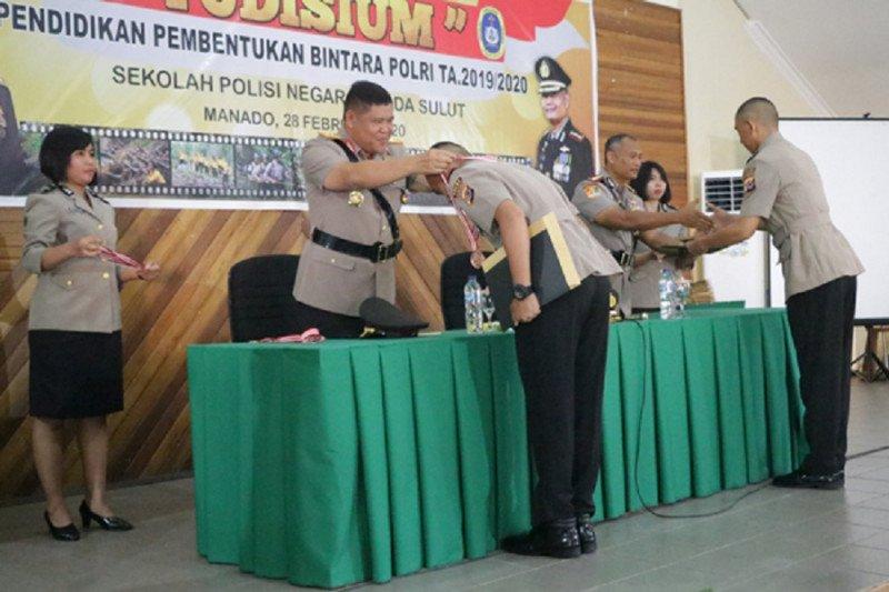 SPN Polda Sulut meyudisium siswa Diktukba Polri