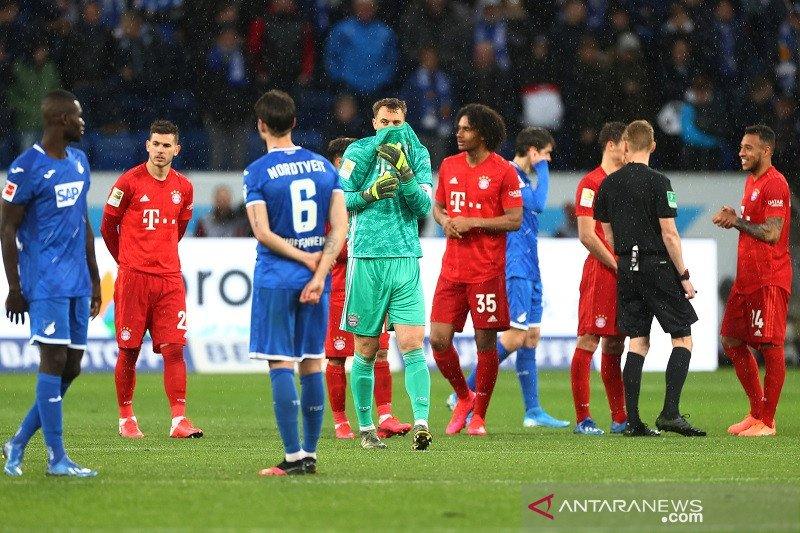Bayern mantapkan posisi puncak klasemen Liga Jerman, menang telak 6-0 atas TSG Hoffenheim