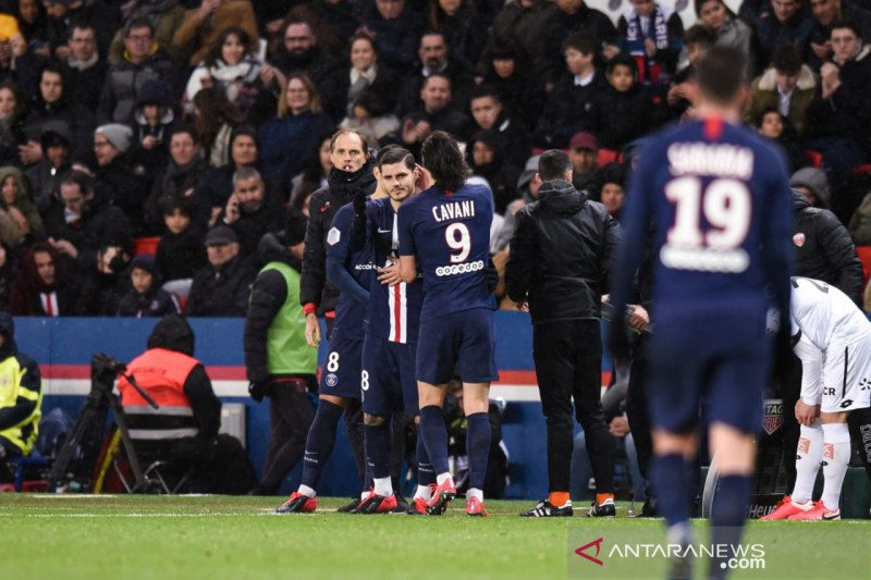 PSG lumat Dijon 4-0, Mbappe ukir dua gol