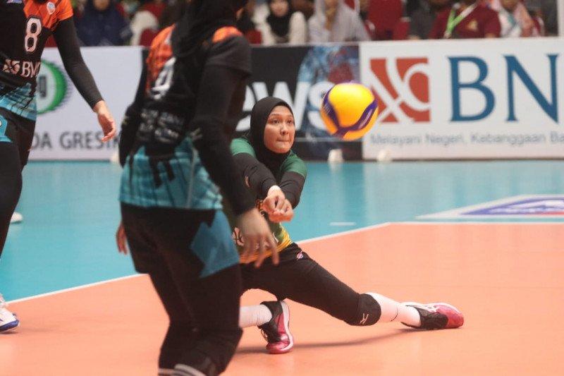 Proliga 2020: Tim putri Jakarta BNI tundukkan GJP 3-0