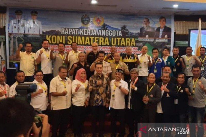 KONI Sumut bertekad raih prestasi terbaik di PON XX Papua