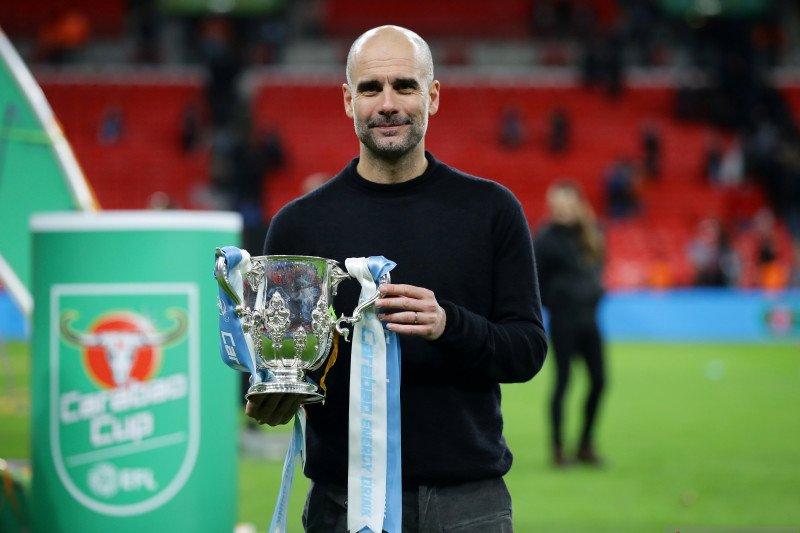 Sebagai pelatih, Pep Guardiola raih 29 trofi selama 11 musim