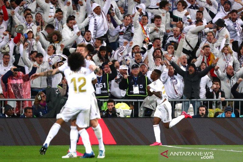 Real Madrid pulangkan pemain usai laga La Liga ditangguhkan