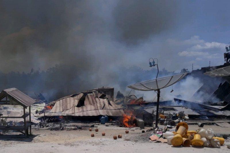 Delapan unit rumah di Inhil Ludes terbakar