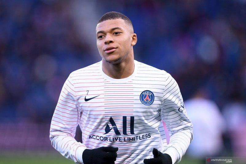 Kylian Mbappe masuk dalam daftar awal skuat Prancis untuk Olimpiade 2020