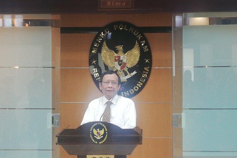 Soal bentrok TNI-Polisi, ini kata Mahfud MD