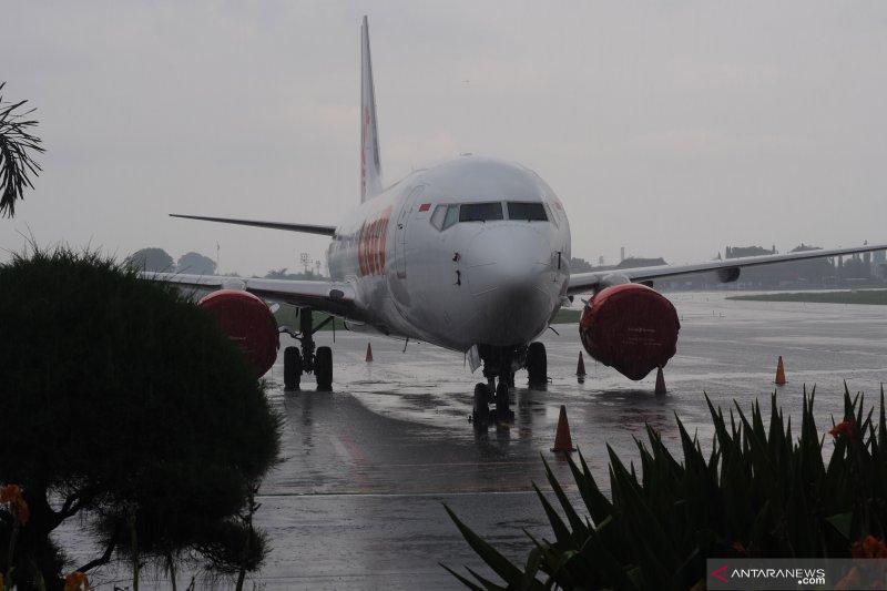 13 penerbangan di Bandara Solo batal  akibat erupsi Merapi