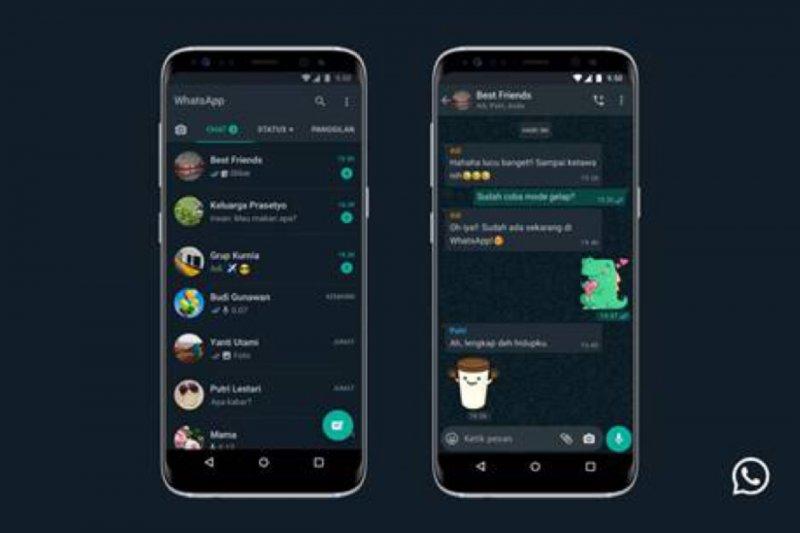 WhatsApp hadirkan fitur mode gelap