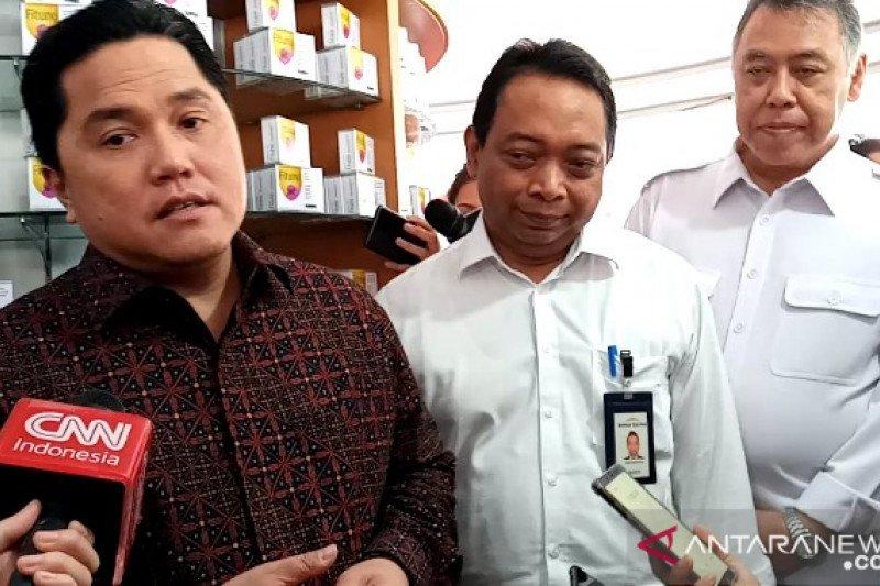 Jangan khawatir, stok masker di Kimia Farma aman tersedia, kata Erick Thohir