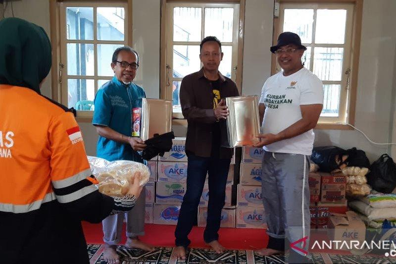 Baznas bantu korban banjir bandang Bolmong-Bolmut