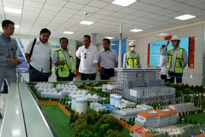 Pembangunan PLTU 8 Sumsel  diharapkan selesai sesuai target