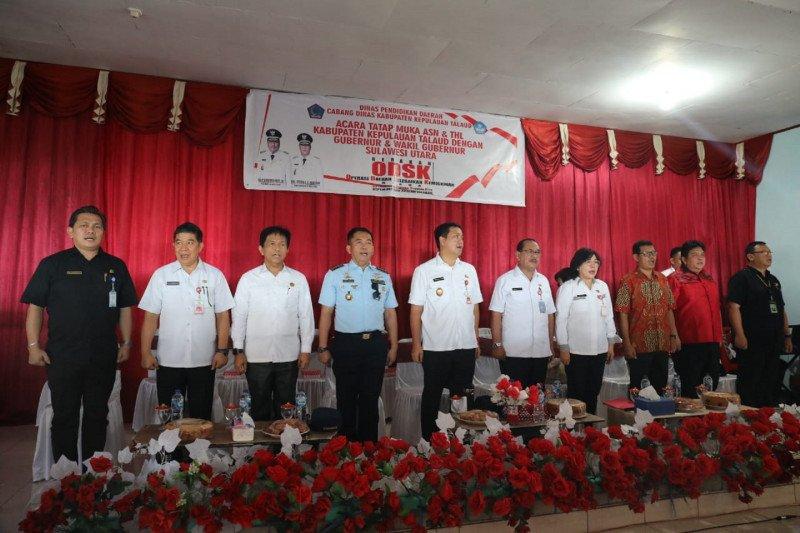 Ratusan THL Dinas Pendidikan Kabupaten Talaud terima SK