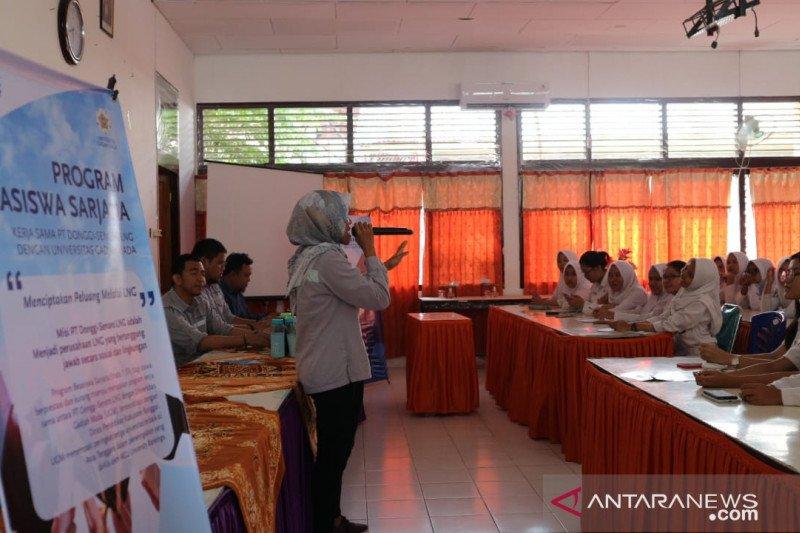 PT DSLNG-UGM buka beasiswa S1 untuk pelajar lokal dari Banggai