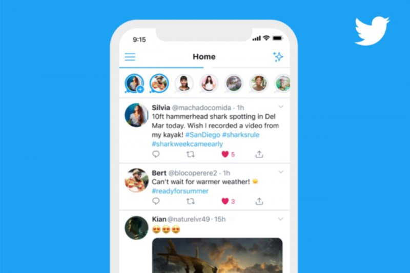 Twitter mulai uji coba fitur mirip 'Stories'