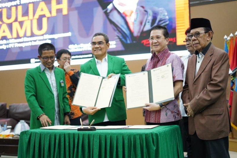 PT Freeport dan UMI Makassar tandatangani MoU pemanfaatan teknologi baru