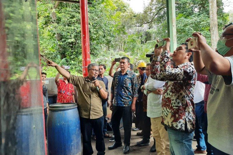 Tabanan - Ogan Komering Ulu Timur pelajari mesin pengolah sampah Serang