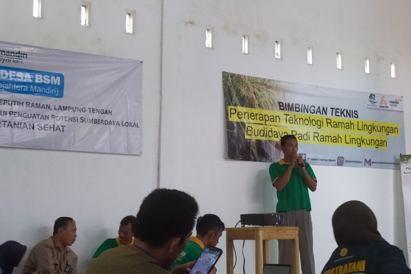 Lampung Tengah berdayakan petani milenial untuk inovasi pertanian